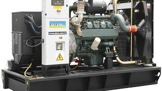 видео Дизельные генераторы Europower, воздушного охлаждения на 3000 об/мин