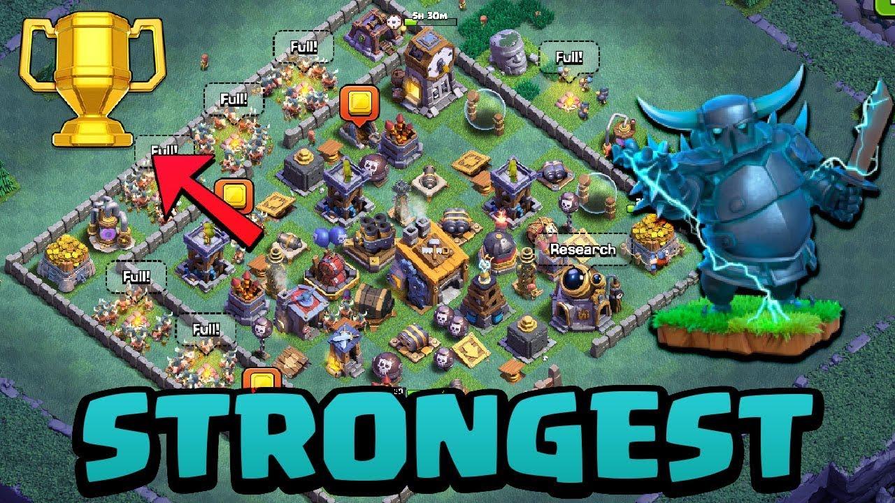 Coc Versus Battle Base Th 8 6