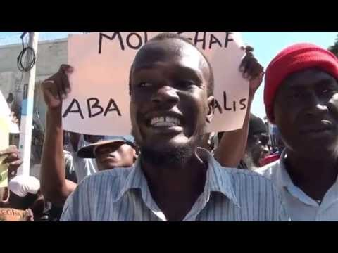 Manifestation 28 Novembre 2014 (Port-au-Prince, Haiti)