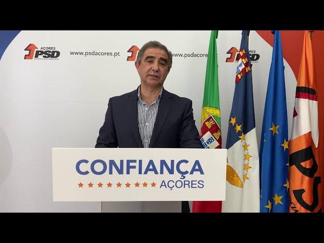 COVID-19. Declaração do Presidente do PSD/Açores