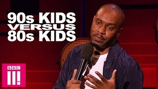 90s Kids Versus 80s Kids | Dane Baptiste Live From The BBC