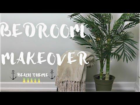 Master Bedroom Makeover-Beach Theme