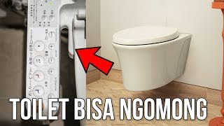 5 Inovasi Toilet Canggih Dan Unik Yang Sebenarnya Gak Penting