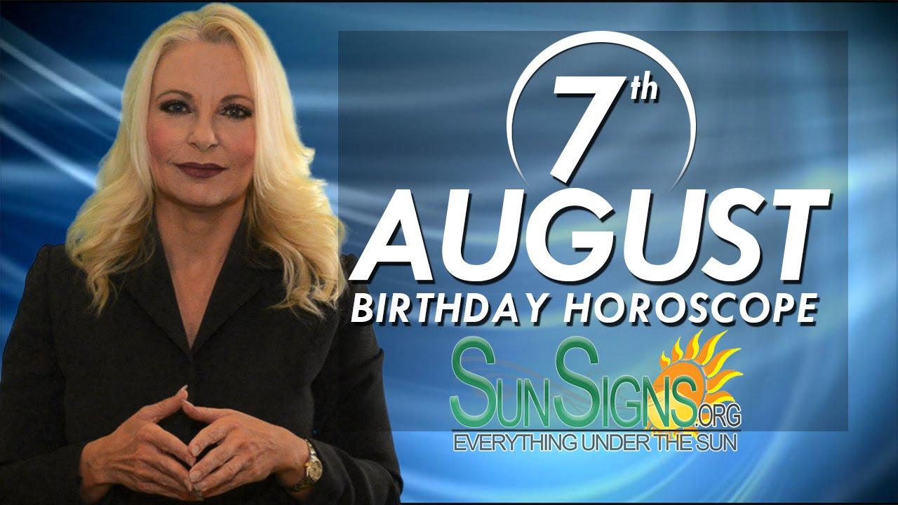 August 7th Zodiac Horoscope Birthday Personality - Leo - Part 1