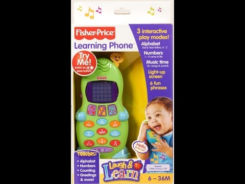 Fisher Price Stuff | Fisher Price Laugh And Learn Phone | Fun Toy For Kids