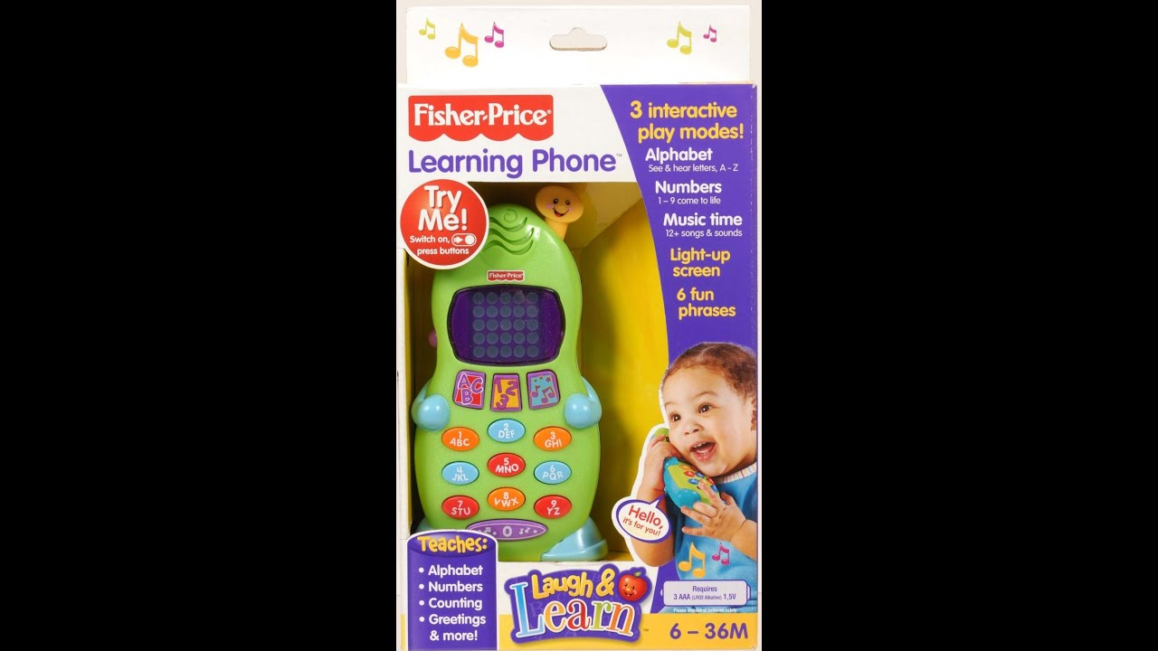 Fisher-Price Laugh & Learning Phone - amazon.com