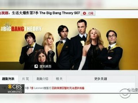 """""""The Big Bang Theory"""" censored by Chinese government"""