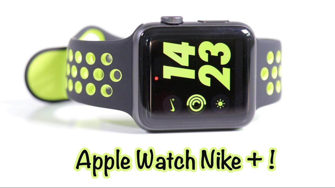 test de l apple watch nike series 2 youtube