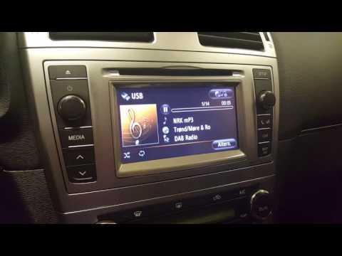 Dension DAB+U i 2014 Toyota Avensis