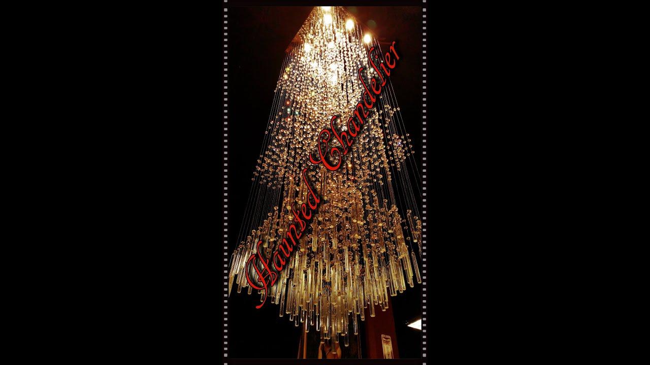 Haunted chandelier creepy as hell youtube haunted chandelier creepy as hell mozeypictures Choice Image