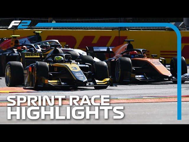 F2 Sprint Race Highlights   2020 Russian Grand Prix