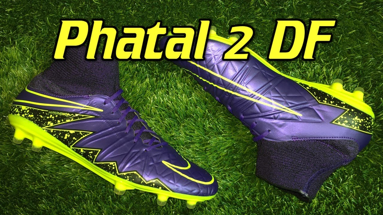 the latest 5fa7a 1923a Nike Hypervenom Phatal 2 DF Electro Flare Pack - Review + On Feet