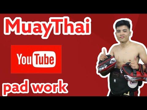 Tập luyện / Pad work / Coach Hieu / Ha Noi Muay Thai Club