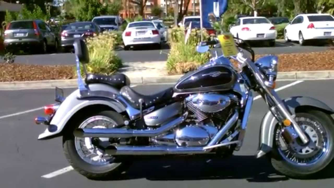 Contra costa powersports used 2005 suzuki boulevard c50 805cc middleweight v twin cruiser motorcycle