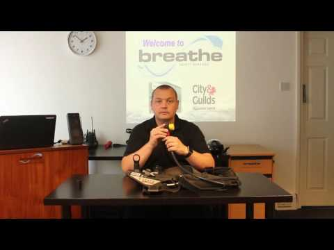 How to use a Self-Contained Breathing Apparatus - Breathe Safety