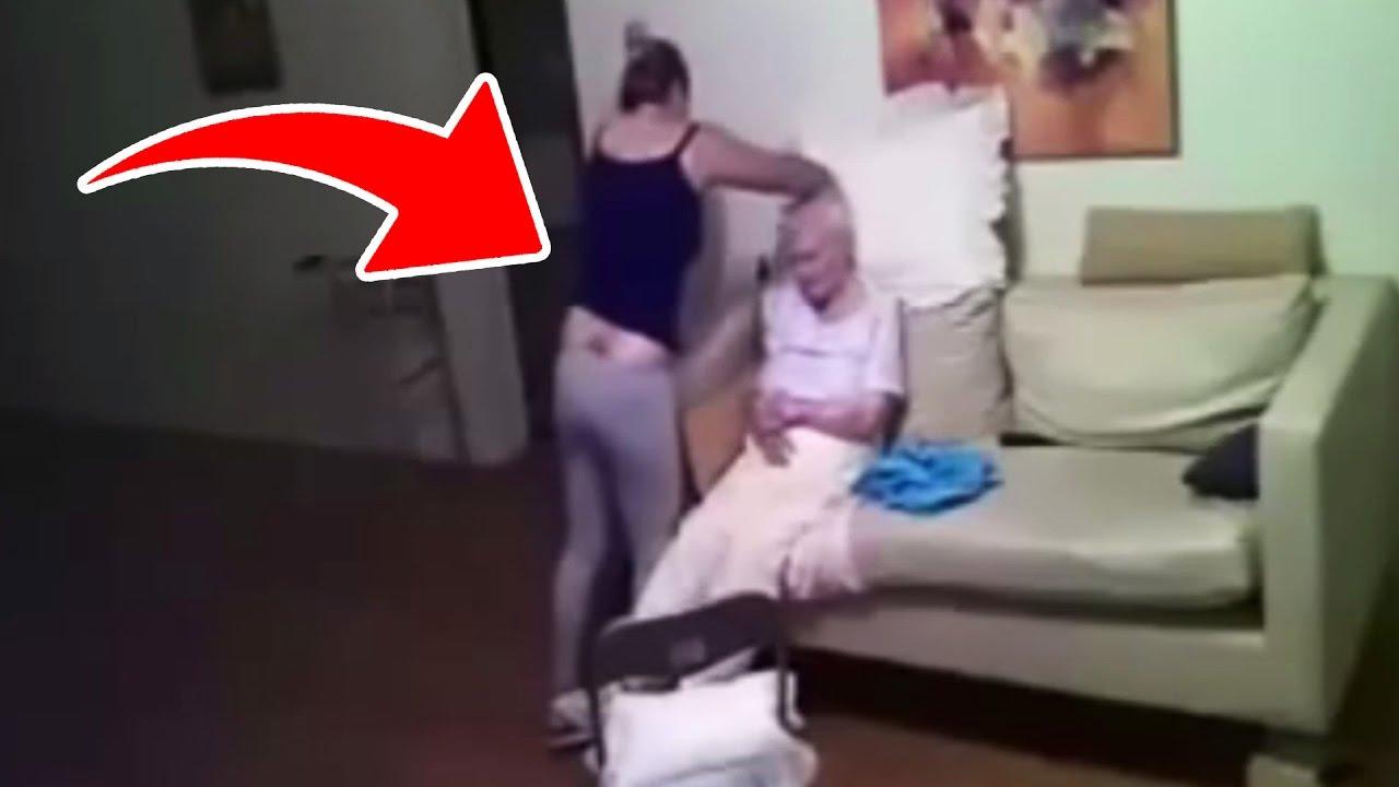 Tochter filmt heimlich Pflegerin im Zimmer ihrer Mutter