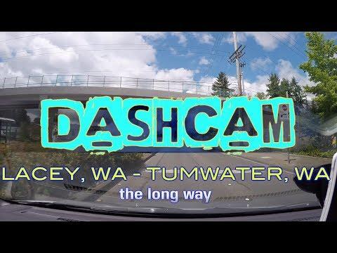 DASHCAM - Lacey, Wa to Tumwater, Wa
