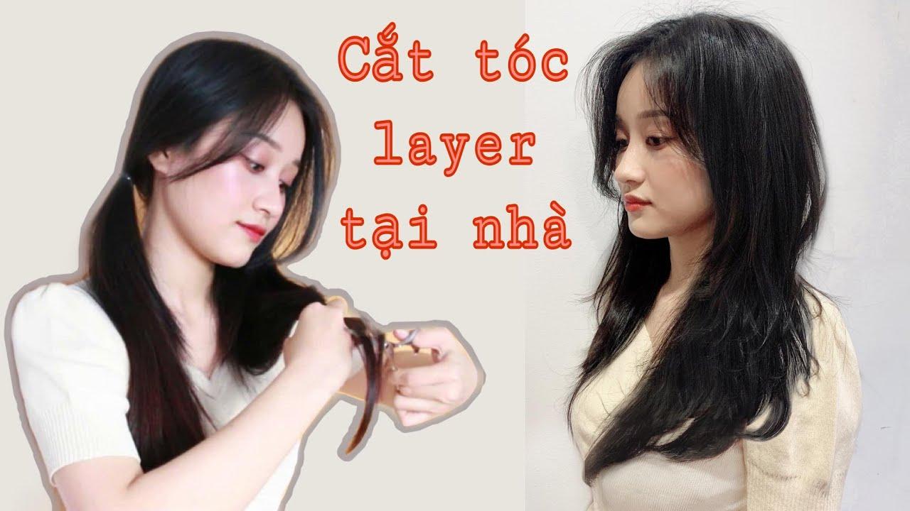 [ENG CC] Tự cắt tóc layer tại nhà | How I cut my hair at home in long layers | Long layered hair cut | Bao quát các nội dung liên quan đến tóc layer dài nữ đúng nhất