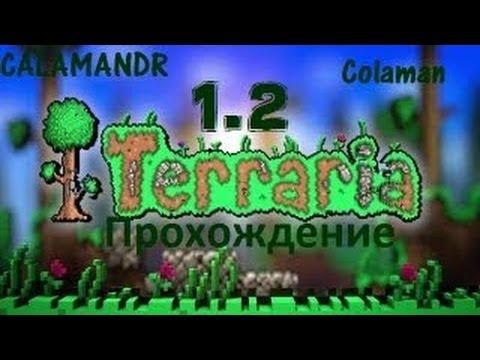 видео: terraria 1.2 [ #3, Зимний Биом ! ] [ Прохождение ] (coop С Денисом) (rus) 720p