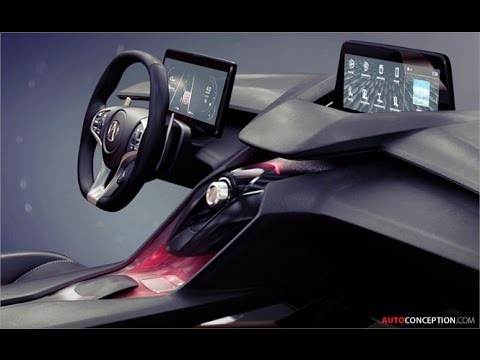 car interior design acura precision concept youtube. Black Bedroom Furniture Sets. Home Design Ideas