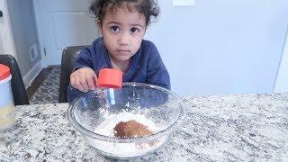2 Year Old Baking Disaster