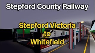 Stepford Victoria - Whitefield | Class 68 | Stepford County Railways | Roblox [HD]