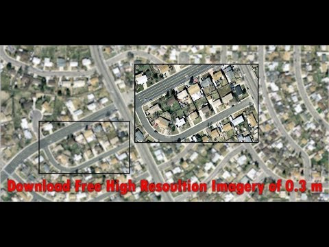 High resolution satellite images free download