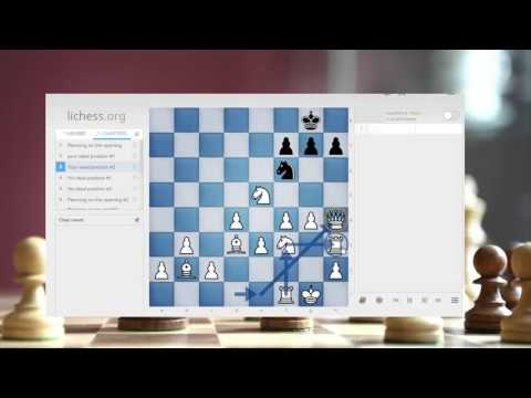 How to create plans in chess the easy way.