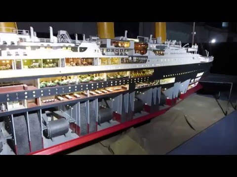 Titanic - The reconstruction. The world's largest scale model - Maqueta más grande del mundo