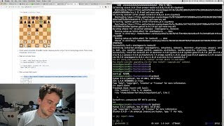George Hotz | Livecoding twitchchess | a simple neural chess AI | part1