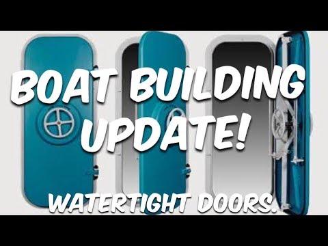 BUILDING & FITTING WATERTIGHT DOORS - BUILDING BRUPEG (Ep. 27)