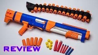 [REVIEW] Spring Thunder | SUPER COOL NERF SHOTGUN! Video