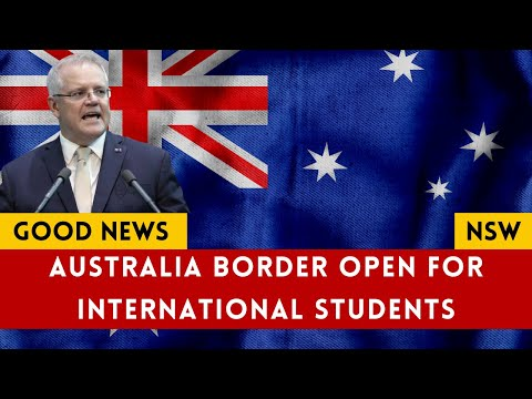 International Students Australia News || Australia Border Open For International Students