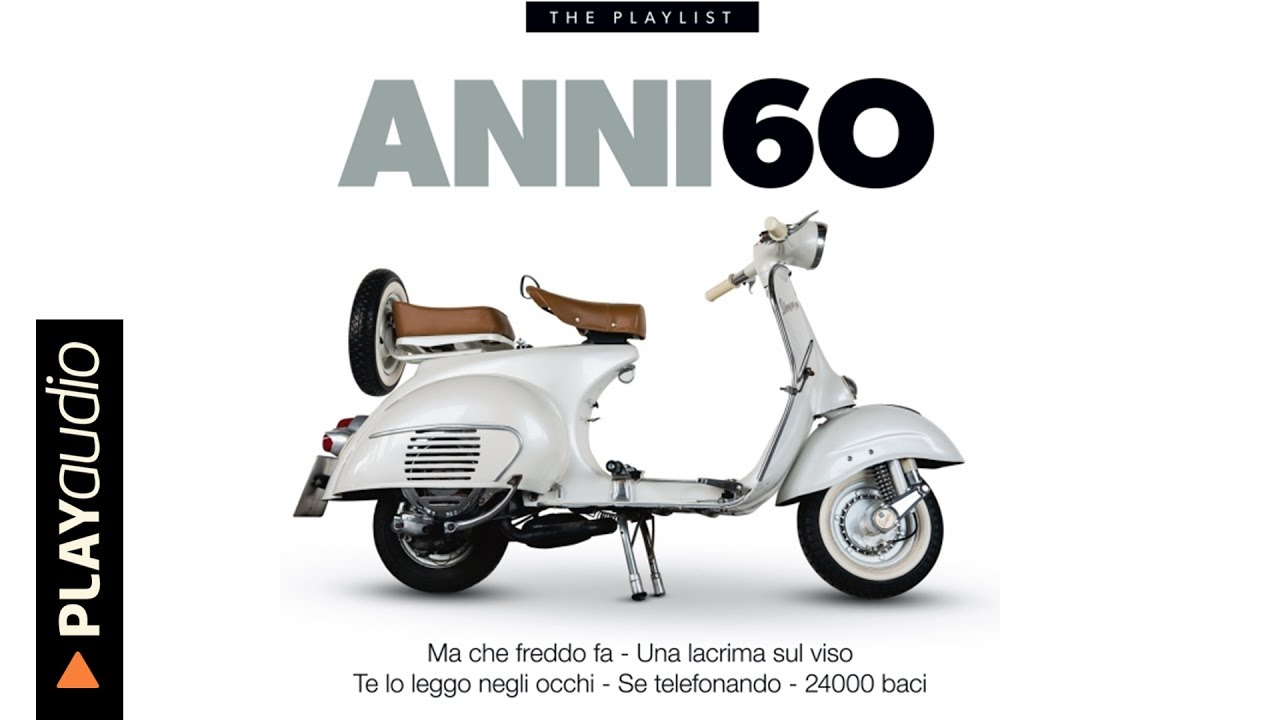 Musica Italiana Anni 60 Hits Playaudio Youtube