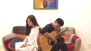Sao Chẳng Thể Vì Em ( Acoustic cover ) - Thái Tuyết Trâm Ft. Trịnh Vũ