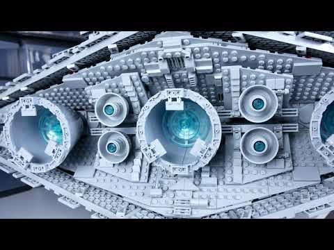 #LEGO STAR WARS 75252 – Имперский звёздный разрушитель