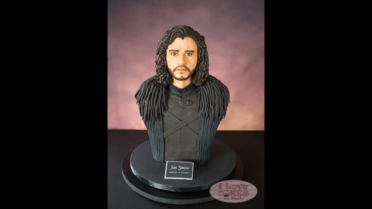 jon snow wedding cake topper the of jon snow bust cake 16610