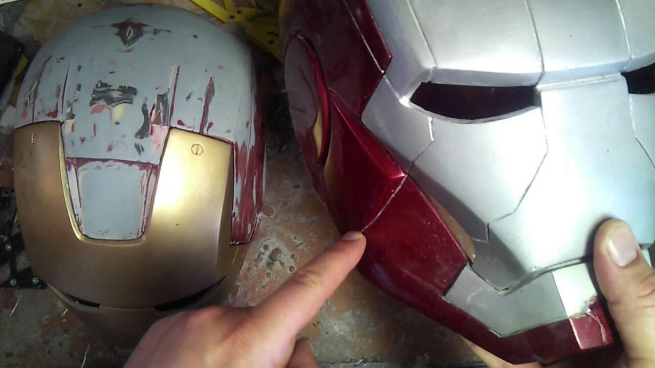How I create IronMan helmets - YouTube