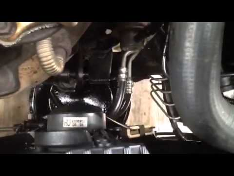 Buick century tranny cooler line