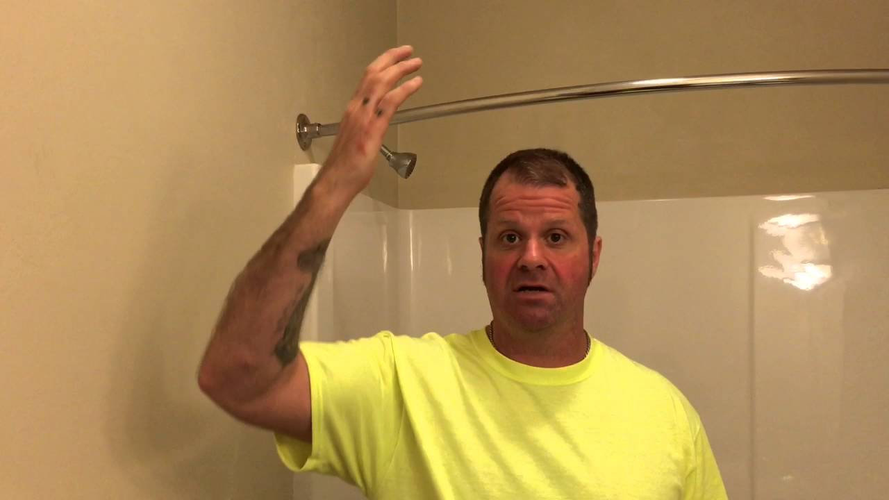 How to prevent and remove bathroom ceiling mildew - YouTube