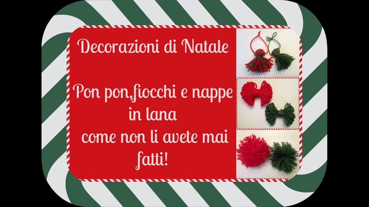 Decorazioni di natale con la lana facili facili fai da te natalizio arte per te youtube - Decorazioni per feste fai da te ...
