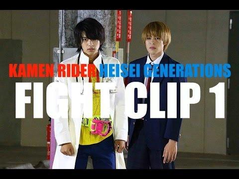 Kamen Rider Heisei Generations- Movie Clip 1 (English Subs)