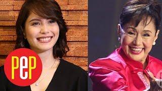 Watch Vilma Santos describe Jessy Mendiola as son Luis Manzano's girlfriend