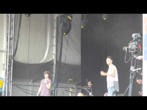 Union J - Where Are You Now - Leicester Music Festival 26/07/2014