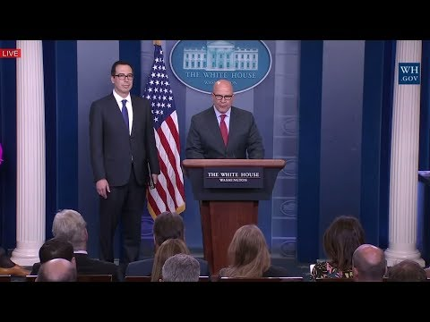 H. R. McMaster & Mnuchin Speech at Sarah Sanders Press Briefing on Anthony Scaramucci, John Kelly