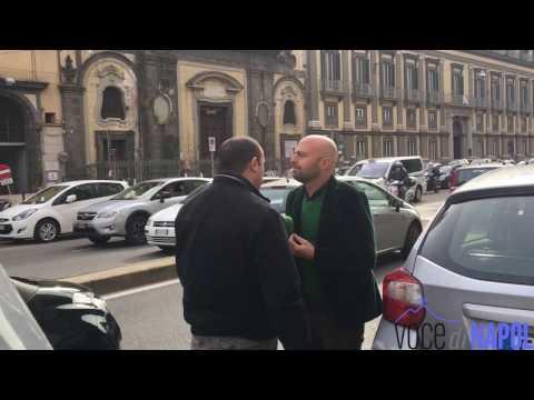 Luca Abete di Striscia la Notizia fa le multe alla polizia