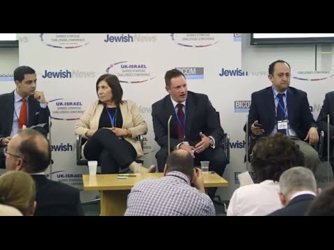 Discussion on Iran at Jewish News UK-Israel Conference
