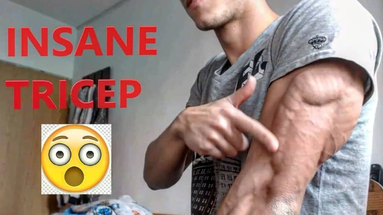 The Best TRICEPS - Most Shredded & Ripped!