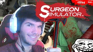 JE CHARCUTE BOB !! SURGEON SIMULATOR 2015 APP