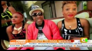 Power Breakfast: Tribute to Papa Wemba